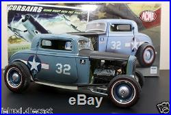 1/18 GMP 1932 Ford Coupe F432 USN Blue A1805001 The Corsairs In Stock by Acme