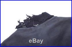 1940s US Navy Blue Hook Clasp Deck Jacket WWII Sz 44 USN 40s WW2 VP-11 Stencil