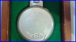 1941 Hamilton WWII Hamilton U. S. Navy model 22 chronometer 21j 36s up/down ind