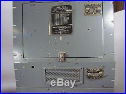 1942 USN/National Radio RAS-4 Radio Receiving Equipment Receiver/PS/Coils
