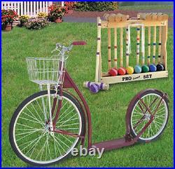 24/20 ADULT KICK SCOOTER NAVY BLUE Genuine Amish Big Wheel USA MADE