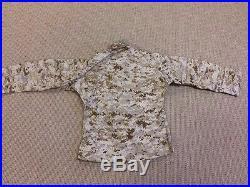 AOR1 NWU II Field Shirt Blouse USN Medium Regular Navy Seal Devgru Marsoc NSW