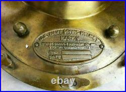 Antique Boston Morse Diving Helmet US Navy Mark V Deep SCA Scuba Divers Helmet