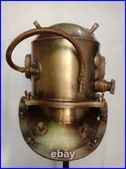 Antique La-Spezia Diving Divers Helmet US Navy mark V Helmet deep sea Divers