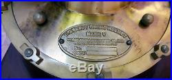 Antique Morse U. S Navy Mark V Brass 18 Boston Diving Helmet Scuba Divers Helmet