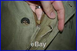 BUZZ RICKSON USN Navy N-1 Deck Jacket Size X-Small