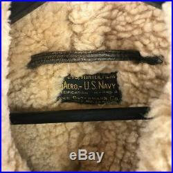 Bauero US Navy Sheepskin M-445A Flight Jacket