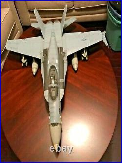 Bbi Elite Force U. S. Navy F/a-18c Hornet Vfa 190 Uss Kitty Hawk 118 Rare