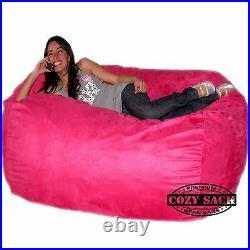 Bean Bag Chairs By Cozy Sack Premium XL 6' Cozy Foam Chair Factory Direct