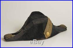 Beautiful & Rare U. S. Navy Commanders CW Cocked Hat & Cased Epaulets