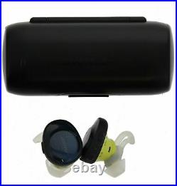 Bose SoundSport Free Bluetooth Wireless In-Ear Headphones Earbuds Navy/Citron