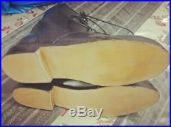 British Royal Navy WW2 sailors, ratings parade deck boots custom made all sizes