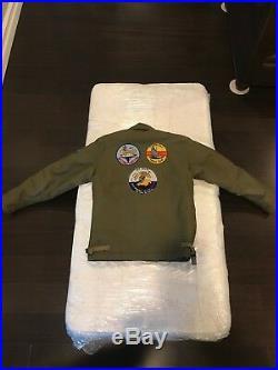 Buzz Ricksons Usn A-2 Deck Jacket Size 36=(small)