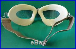 CHAS. FISCHER USMC/NAVY AN-6530 FLYING GOGGLES WithBOX