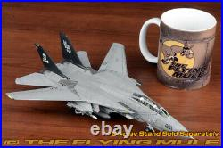 Calibre Wings 172 F-14A Tomcat USN VF-84 Jolly Rogers AJ201 Weathered Finish