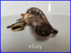 Civil War Model 1852 USN US Navy-Naval Officers Etched Sword & Scabbard