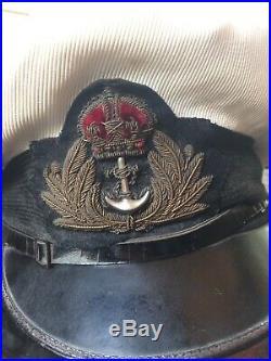 DSC Winners Royal Navy Officers' WW2 Cap. Bates. Scharnhorst