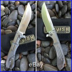 Dervish Knives Alchemy Flipper folding Knife TAD Gear USN Gathering Ltd Edition