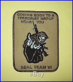 Desert Reaper Us Navy Seal Team VI Morale Military Patch Seal Team 6