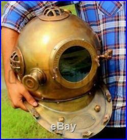 Diving Divers Helmet Antique Deep Sea Vintage Mark V 18 Anchor Engineering 1921