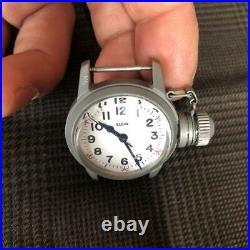 ELGIN Military USN BUSHIPS US Navy Watch With Crown Cap Manual Winding #0