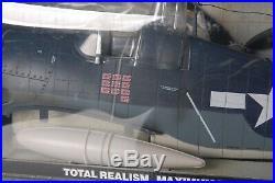 Elite Force BBI WWII U. S. Navy F6F Shark Mouth HELLCAT 1/18 Scale Airplane/Pilot