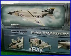 Elite Force U. S. Navy F-4j Phantom 1/32 Scale Bbi #000311 -price Reduced, Nib