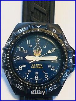 Extremely Rare Breitling Colt Military / DPW U. S. NAVY Air Force military watch