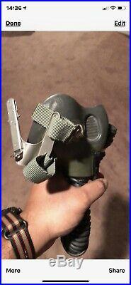 Flight Helmet Usn Us Navy Mbu14/p Oxygen Mask Va-94 Mighty Shrikes Named Pilot