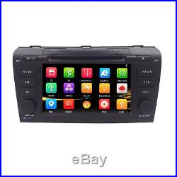 For Mazda 3 2004 2005 2006 2007 2008 2009 Car DVD Stereo GPS Navi Radio Player