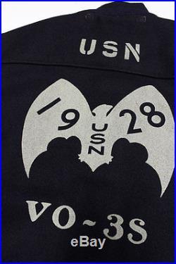 Freewheelers navy melton wool A1 jacket USN Made in Japan NEW