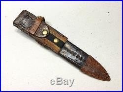 Genuine WW2 Italian Navy Leader Fascist Dagger Sword Knife With Sheath