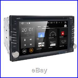 Google Android In dash 2 Din Car DVD Player GPS TV OBD BT Radio SD GPS US MAP