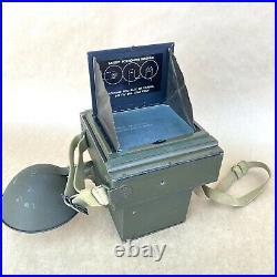 Graphic 4x5 Combat U. S. Navy WW2 Vintage Film Camera With Anastigmat 127mm 4.7