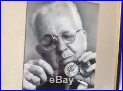 HAMILTION MODEL 22 gimbal mount 21 JEWEL CHRONOMETER U. S. NAVY 1942