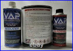 High Gloss NAVY BLUE Gallon Kit Single Stage ACRYLIC ENAMEL Car Auto Paint Kit
