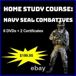 Home Study Course Navy Seal Combatives (DVDs + Certs)