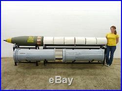 Inert replica 16/50 Iowa-Class Battleship ordnance display artillery cannon USN