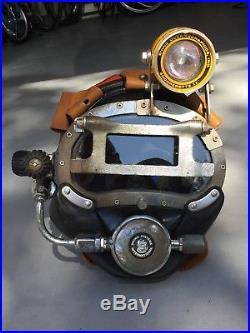 Kirby Morgan KMB-10/USN MK-1 MOD 0 Commercial Diving Band Mask