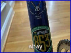 LeMond Zurich 63cm Reynolds 853 Shimano 600 Navy/Yellow
