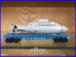 Lionel O Gauge 1633 U. S. Navy Land-Sea-Air Two Unit Diesel Freight Set OB