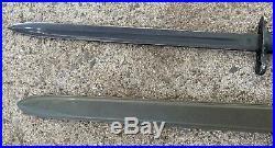 M1905 M1942 M1 Garand Bayonet 16 inch ONEIDA LIMITED 1942 RARE USN MK1