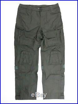 MASSIF Hellman Combat Pants Fire Resistant Sage Green Medium Regular FR USN SOF