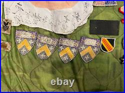 Military Junk Drawer Lot, WW2 Modern US Army Navy Insignia Pins Medals Vie