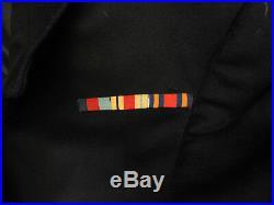 Military WW2 Royal Navy R. N. V. R Tunic Uniform Naval Lieutenant Commander (5151)