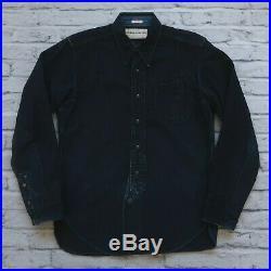 Mister Freedom Type 189MN Midnight CPO Shirt Sugar Cane Denim Naval USN