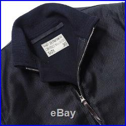 NEW! Real McCoys Japan USN deck zip jacket New With Tags MJ19112 size 42 L
