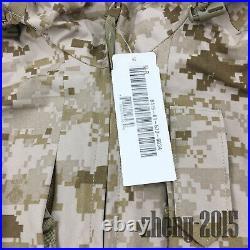 NWT NWU Type II Navy Seal AOR1 desert marpat GORETEX jacket parka size MR