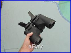 Nice Rare Pair of WWII Navy Bausch and Lomb Mark 41 Binoculars with Case As Seen