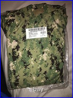 Nwt Us Navy Ecwcs Aor2 Nwu Type III Cold Weather Gore Tex Parka X-large Reg